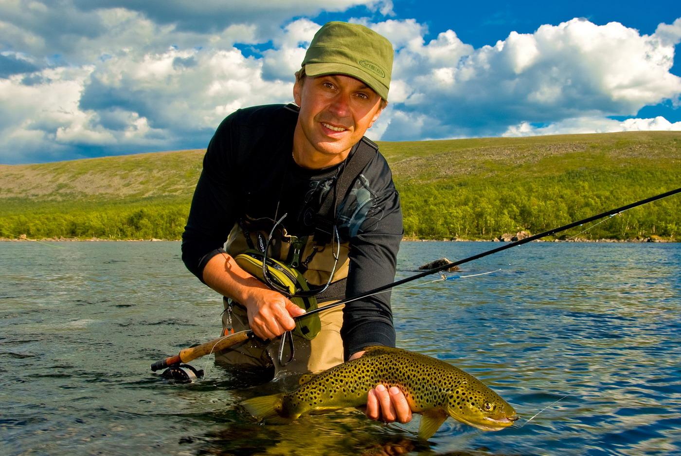 Улов рыбака